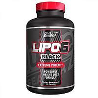 Lipo-6 Black Extreme Potency, 120 caps, Nutrex