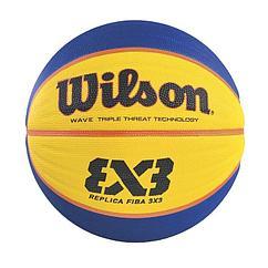 Wilson  мяч баскетбольный Fiba 3x3 Replica RBR