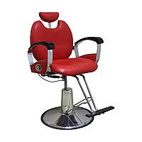 AS-806 Кресло парикмахерское с откидной спинкой (красное)