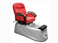 F-9859 A Кресло педикюрное с джакузи (красное, гладкое)