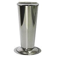 Стакан металлический с крышкой для инструм. М 15 см №70964(2)