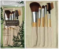 Набор кистей для макияжа Ecotools - 6 шт. бамбуковая ручка №12064