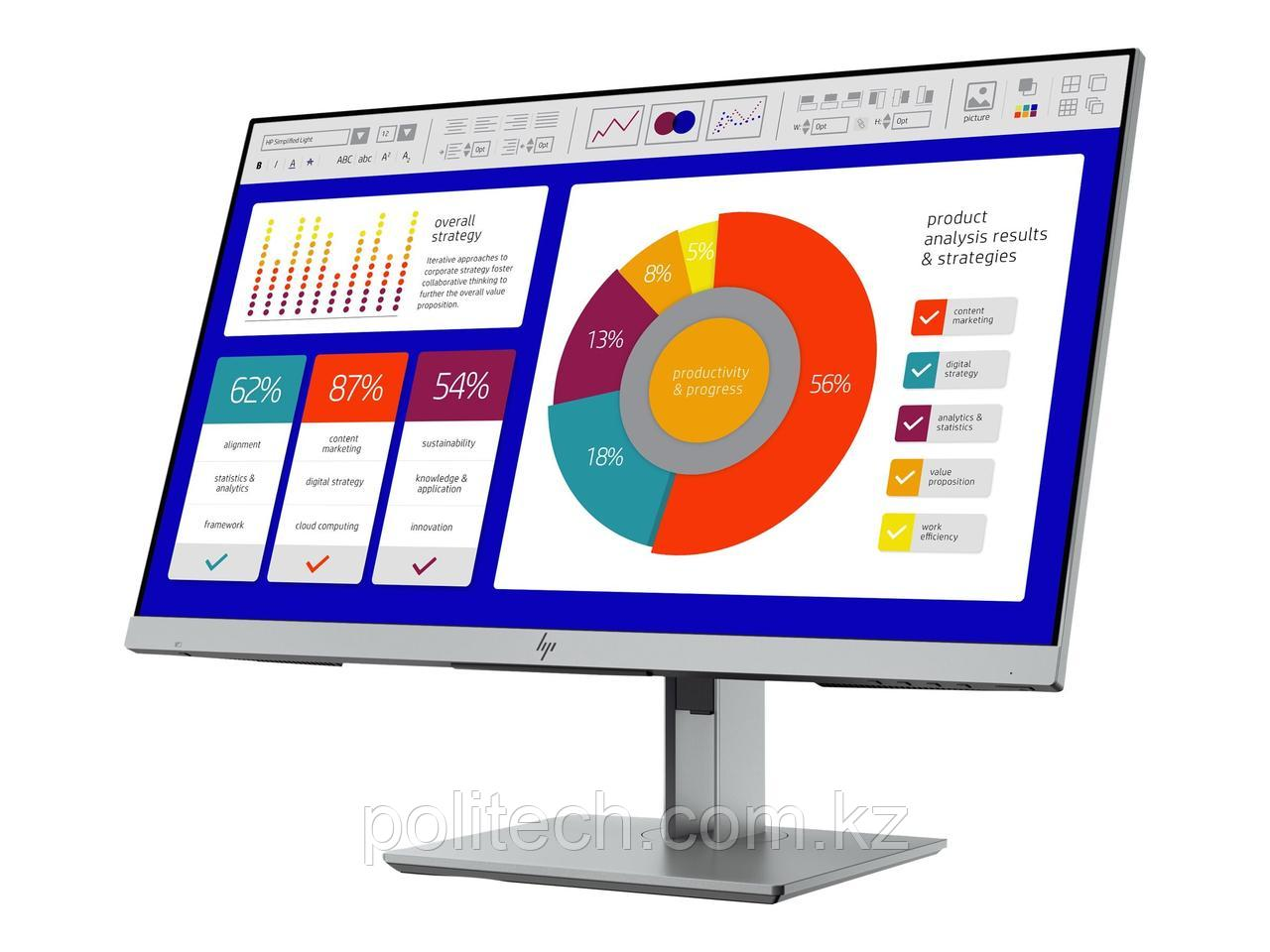 Монитор HP Europe EliteDisplay E243p Sure View Monitor (5FT13AA#ABB)