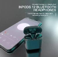 Беспроводные сенсорные наушники InPods 12 Simple СИНИЕ, фото 1