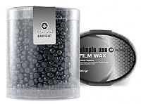 Горячий воск SIMPLE USE для депиляции Черный Вельвет 500 мл №12548
