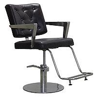 AS-7091 Кресло парикмахерское (темно-коричневое)