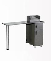 NE-25 Стол маникюрный (серый, глянец)