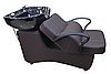 AS-006 Мойка парикмахерская с креслом (темно-коричневая)