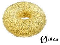 Валик для объема волос Q-65 бежевый Ø 14 см AISULU (б) №11257(2)