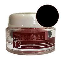 Гель для наращивания Gel UV Ouli T-3 3-в-1 Black (биогель) 15 г №21524
