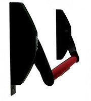 """TESA 1970908 NR врезное устройство """"Антипаника"""", цвет черный/красный"""
