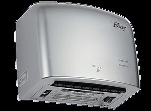 Высокоскоростная сушилка для рук Breez AirMax: BHDA-1250S (серебристый пластик), фото 2