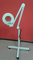 Лампа-лупа напольная ЛЭД LED на колесиках, фото 1