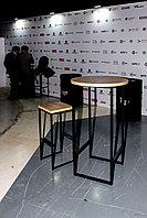 Аренда (прокат) барного стола в стиле LOFT, тип 131