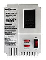 Magnetta, ACDR-500VA, Стабилизатор напряжения релейный, настенный однофазный, двухцветный LED диспле