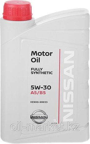 Моторное масло Ниссан / NISSAN MOTOR OIL SAE 5W-30 1L KE900-99933R, фото 2