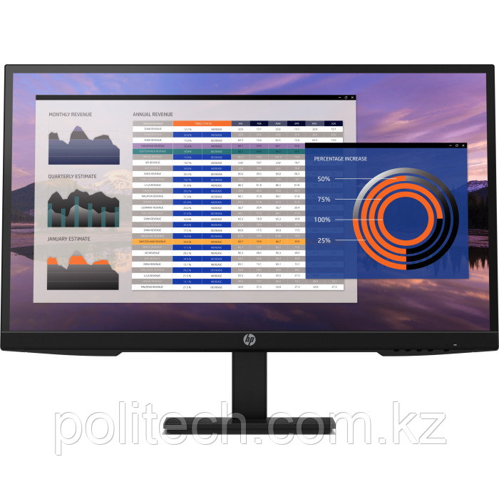 Монитор HP Europe P27h G4 FHD (7VH95AA#ABB)