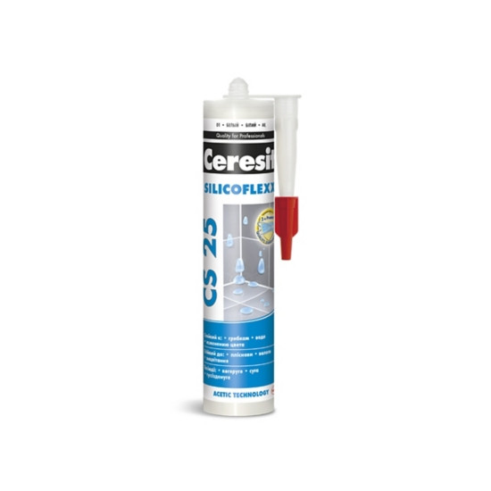 Затирка силиконовая Ceresit CS 25 Silicoflexx