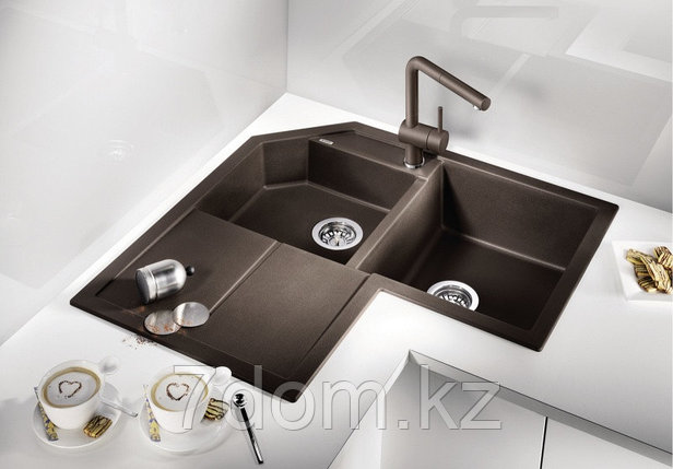 Кухонная мойка Blanco Metra 9 E антрацит (515576), фото 2