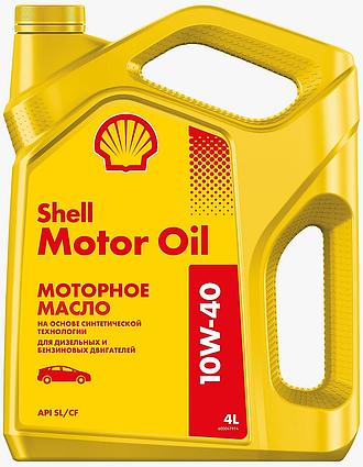 SHELL MOTOR OIL 10W-40 4L