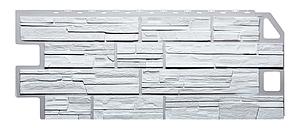Фасадные панели Сланец Белый 1130x470 мм Дачные FINEBER