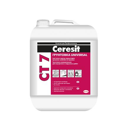 Грунтовка универсальная Ceresit CT 7