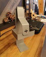 Настенный локтевой дозатор с 1000 мл флаконом