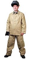 Костюм сварщика (куртка,брюки) с налокотниками,наколенниками