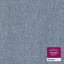 Коммерческий гетерогенный линолеум TRAVERTINE - BLUE 01