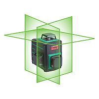 Лазерный уровень (нивелир) с зеленым лучом, FUBAG Pyramid 30G, 3D 360 градусов