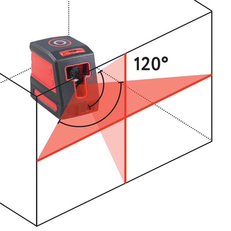 Лазерный уровень (нивелир), Fubag Crystal 10R VH, 10 метров - фото 8