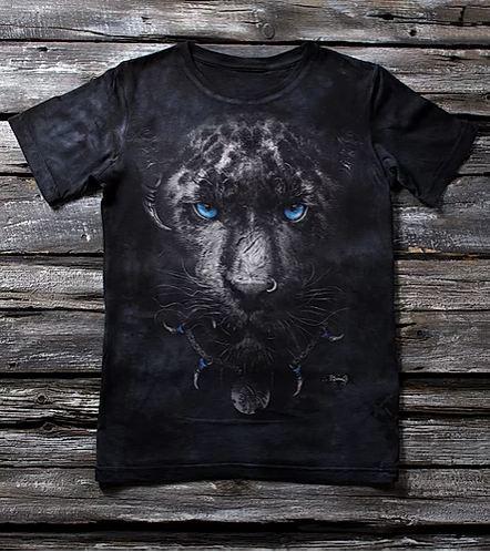 """Детская футболка с принтом 3D """"Пантера"""" в Алматы"""