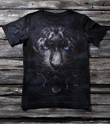 """Детская футболка с принтом 3D """"Пантера"""" в Алматы, фото 2"""