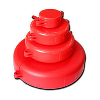Составной блокиратор шибертных вентилей и задвижек от 152 до 254 мм