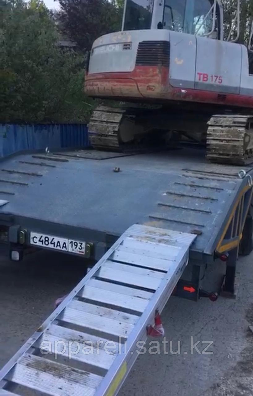 Аппарели от производителя для спецтехники 8 тонн
