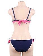 Купальник тройка Pink Stripe S, M, L, XL, фото 6