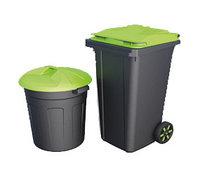 Круглый мусорный бак 150 л.