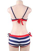 Купальник тройка Red Stripe (M), фото 4