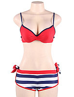 Купальник тройка Red Stripe (S), фото 3