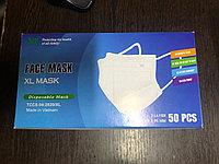 Медицинские маски в упаковке 50шт. Вьетнамские стиральные.