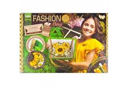 """Комплект для творчества """"Fashion Bag Букет с подсолнухами"""" вышивка лентами"""