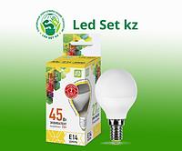 Лампа светодиодная LED-Шар-standard 5.0Вт 220В Е14 3000К 450Лм