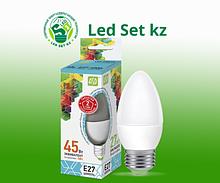Лампа светодиодная LED-Свеча-Standard 5.0Вт 160-260В Е27 4000К 450Лм