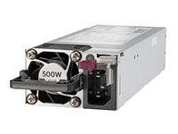 Блок питания 865408-B21 HPE 500W Flex Slot Platinum Hot Plug Low Halogen Power Supply Kit, Gen10