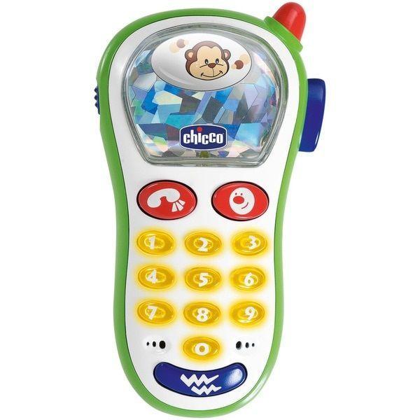 Игрушка развивающая Chicco телефон 6м+