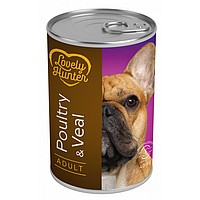 Влажный корм для взрослых собак всех пород Lovely Hanter Adult Poultry&Veal с мясом домашней птицы и телятины