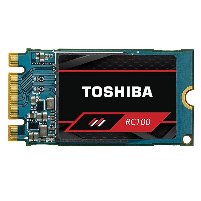Твердотельный накопитель SSD Toshiba RC100 Series PCIe Gen 3x2 M.2 2242 THN-RC10Z2400G8 (240GB)