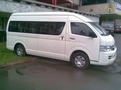 Услуги новых микроавтобусов представительского класса
