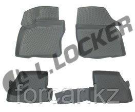 3D Коврики в салон Ford Focus III (11-) (полимерные) L.Locker, фото 2