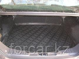Коврик в багажник Ford Focus III sedan (11-) (полимерный) L.Locker, фото 2